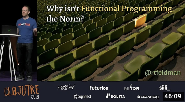 Why Isn't Functional Programming the Norm